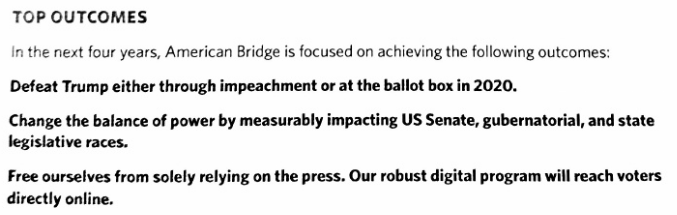 David Brock American Bridge Quote